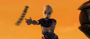 Ventress forced disarm