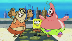 Bubble Bass Bribes Spongebob and Patrick