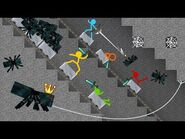 Cave Spider Roller Coaster - Animation vs. Minecraft Shorts Ep