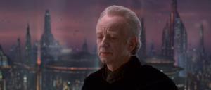 Chancellor Palpatine wonders