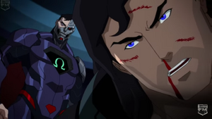 Cyborg Superman taunting