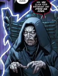 Emperor Palpatine strike comic