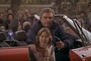 Chandler holding Cindy hostage