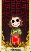 Chara Tarot Card (closeup)