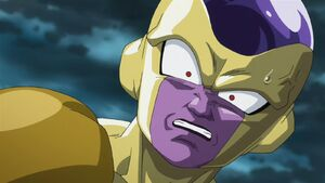 Frieza scare by Beerus