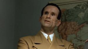 Goebbels reacts to Hitler's plans