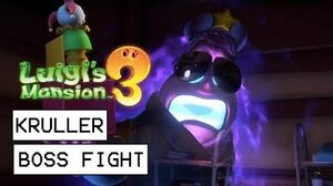 Luigi's Mansion 3 Kruller Boss Fight