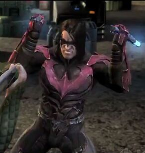 Nightwing injustice alternate costume by misternefarious-d5tb2tg