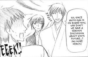 Kyo's Father, Akito and Kazuma extra page