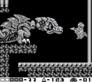 Queen Metroid Metroid II