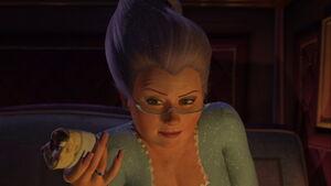 Fairy Godmother Shrek2 nails 3579
