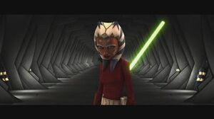 Star Wars The Clone Wars - Ahsoka Tano & Anakin Skywalker vs