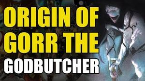 The Origin of Gorr The Godbutcher (Thor God of Thunder Origins)