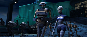 Ventress Christophsis tactical droid