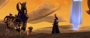 Asajj Ventress Yoda clones