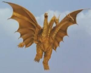 King Ghidorah (Rebirth of Mothra III) 10