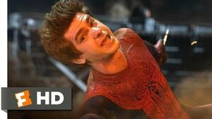 The Amazing Spider-Man - Saved by Spider-Man Scene (5 10) Movieclips