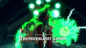 Shard of Calamity Ganon Thunderblight Ganon