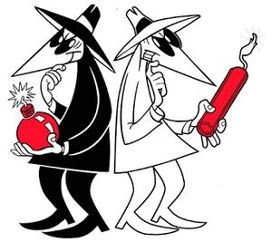 Spy vs. Spy (With Explosives)