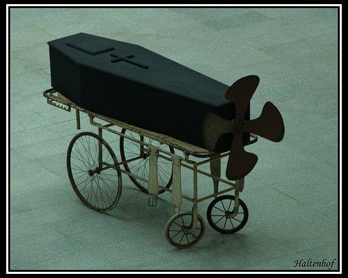 Coffin on Wheels