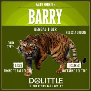 Dolittle 1x1 Barry