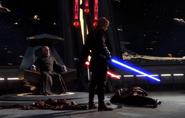 Dooku's death at the hands of Skywalker.