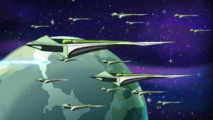 Horde starships