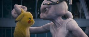Pikachu telling Howard what he was really doing