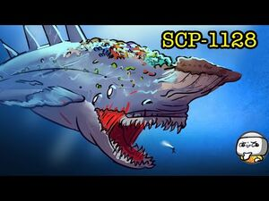 SCP-1128 The Aquatic Horror (SCP Animation)