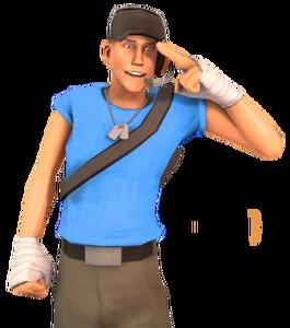 Scout BLU Render
