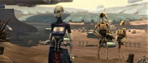 Ventress Rugosa droid encampment