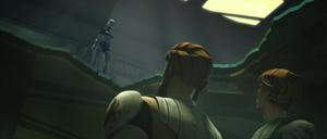 Asajj Jedi trapped