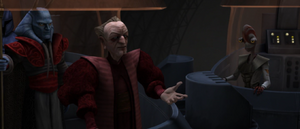 Chancellor Palpatine lectures
