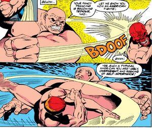 Johann Shmidt (Earth-616) and Wilson Fisk (Earth-616) from Captain America 378 0001