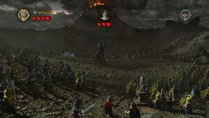 Sauron battle