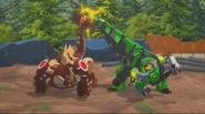 Scowl & Grimlock (Dino Buddies)