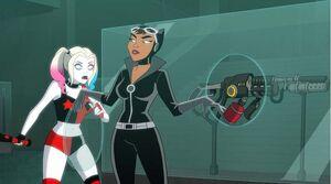 Selina Kyle and Harley Quinn (Harley Quinn TV Series)