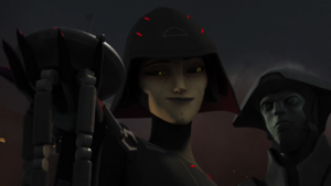 Seventh Sister in The Future of the Force 3