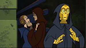 Skywalker Amidala farewell