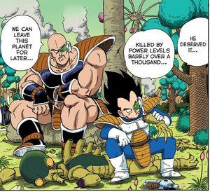 Vegeta and Nappa Appear!!n Dragon Ball Full Color v01