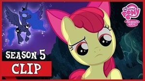Apple Bloom Encounters Princess Luna (Bloom and Gloom) MLP FiM HD