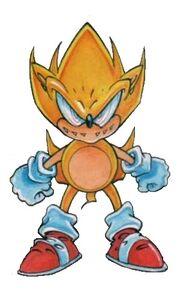Evil Super Sonic the Hedgehog