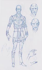 Male Lotus Assassin concept