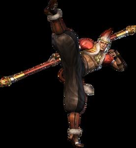 Sun Wukong Orochi Render