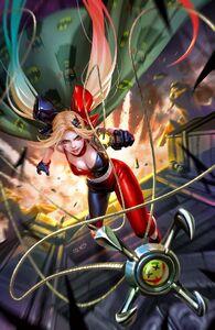 Harley Quinn Vol 4 4 Textless Variant