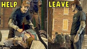 Lee Asks Kenny To Leave Ben vs Stays With Him -All Choices- The Walking Dead