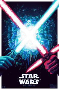 Lightsabers TROS Poster