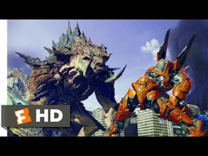 Pacific Rim Uprising (2018) - Mega-Kaiju Violence Scene (9-10) - Movieclips