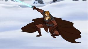 Skywalker snow-pose