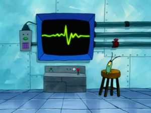 SpongeBob SquarePants Karen the Computer Wall